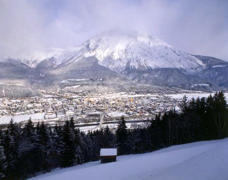 Lyžařské středisko Telfes im Stubaital - fotografie