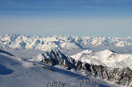 Lyžařské středisko Tux - fotografie