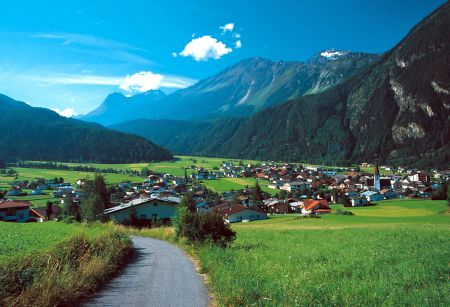 Lyžařské středisko Umhausen - fotografie