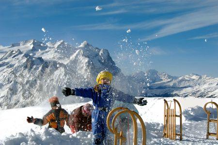 Lyžařské středisko Veysonnaz - fotografie