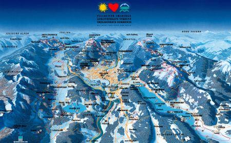 Lyžařské středisko Villach - fotografie