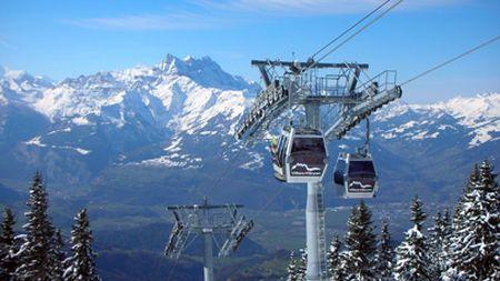 Lyžařské středisko Villars - fotografie