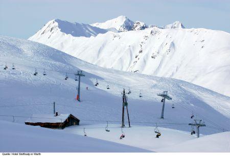 Lyžařské středisko Warth - fotografie