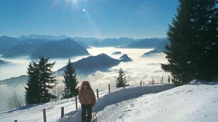 Lyžařské středisko Weggis - fotografie