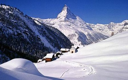 Lyžařské středisko Zermatt - fotografie